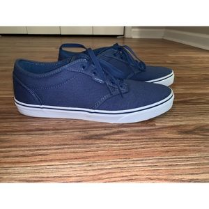Vans Atwood Navy and White
